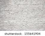 white grunge brick wall... | Shutterstock . vector #155641904
