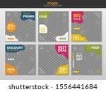 food social media template... | Shutterstock .eps vector #1556441684