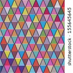 beautiful colorful geometric... | Shutterstock .eps vector #155645645