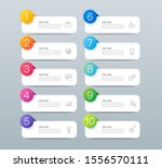 infographics design vector... | Shutterstock .eps vector #1556570111