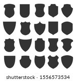 shield icons collection.... | Shutterstock .eps vector #1556573534