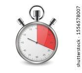 realistic metal steel classic... | Shutterstock .eps vector #1556578007