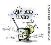 hand drawn illustration of... | Shutterstock .eps vector #155658479