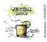 hand drawn illustration of... | Shutterstock .eps vector #155658527