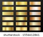 gold and bronze gradients... | Shutterstock .eps vector #1556612861
