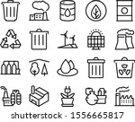 environment vector icon set...