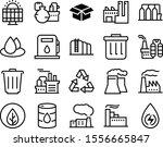 environment vector icon set...