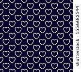 white outline heart pattern... | Shutterstock .eps vector #1556683544