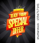 black friday special offer ...   Shutterstock .eps vector #1556717141