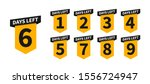 countdown banners or badges.... | Shutterstock .eps vector #1556724947