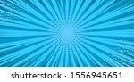 pop art blue comics book...   Shutterstock .eps vector #1556945651
