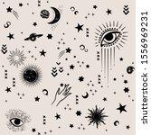 space galaxy constellation... | Shutterstock .eps vector #1556969231