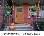 Front Porch Of Older Brick...