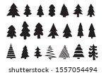 set of black hand drawn...   Shutterstock .eps vector #1557054494
