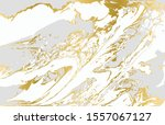 gray and gold agate ripple... | Shutterstock .eps vector #1557067127
