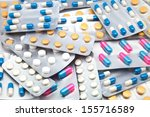 packings of pills and capsules