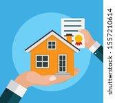 real estate concept.  buy house ...   Shutterstock . vector #1557210614
