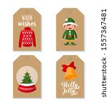 tags and labels collection with ... | Shutterstock .eps vector #1557367481