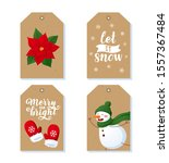 tags and labels collection with ... | Shutterstock .eps vector #1557367484