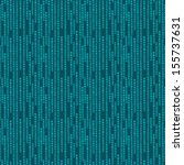 green abstract geometric pixel... | Shutterstock . vector #155737631