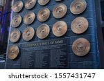liverpool  uk   october 30 2019 ... | Shutterstock . vector #1557431747