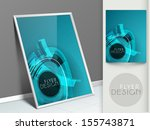 professional business flyer... | Shutterstock .eps vector #155743871