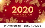 merry christmas and happy new...   Shutterstock .eps vector #1557464291