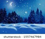 Winter  Background .merry...