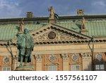 statue of Axel Oxenstierna Stockholm Sweden