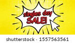 comic cartoon single singles... | Shutterstock .eps vector #1557563561