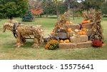 Autumn Display Has Horses...