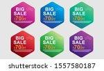 modern mobile for big sale... | Shutterstock .eps vector #1557580187