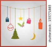 simple vector coloured... | Shutterstock .eps vector #155771885