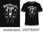 bachelor party   vector design... | Shutterstock .eps vector #1557765437