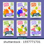abstract splash food label... | Shutterstock .eps vector #1557771731