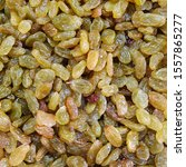 macro photo dry raisins. stock... | Shutterstock . vector #1557865277