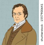 louis joseph gay lussac...   Shutterstock .eps vector #1557900641