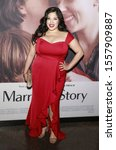 """Small photo of Los Angeles, CA - November 05, 2019: Connie Marie Flores attends the Premiere of Netflix's """"Marriage Story""""at DGA Theater"""