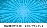 pop art blue comics book... | Shutterstock .eps vector #1557958601
