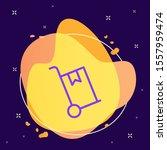 cart  delivery  box vector icon ...