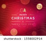 merry christmas and happy new... | Shutterstock .eps vector #1558002914
