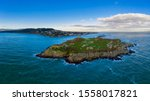 Aerial View Of Dalkey Island...