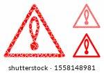 danger composition of unequal... | Shutterstock .eps vector #1558148981