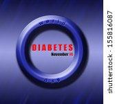 Graphic Design World Diabetes...