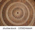 Circular Weave Rattan Pattern...