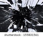 Demolished Or Shattered Glass...