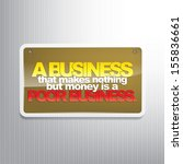 a business that makes nothing...   Shutterstock .eps vector #155836661