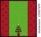 christmas card | Shutterstock .eps vector #155837699