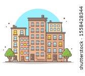 Cityscape Vector Icon...