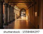 Porticos Bologna  Italy....